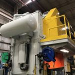 Industrial painting and sandblasting for a manufacturing plant